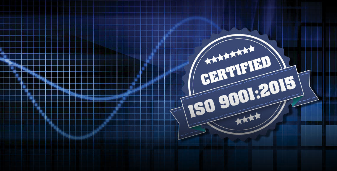 Acme Updated ISO 9001 Certification