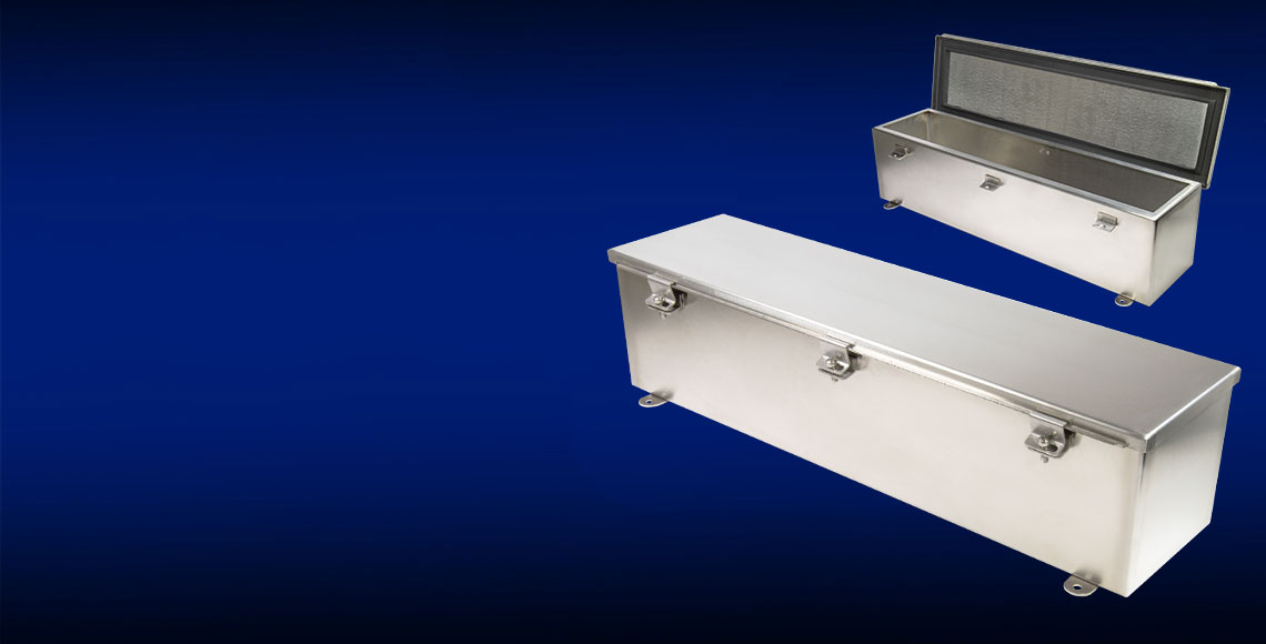 NEW! T-CHSS Series Stainless Steel Wiring Trough