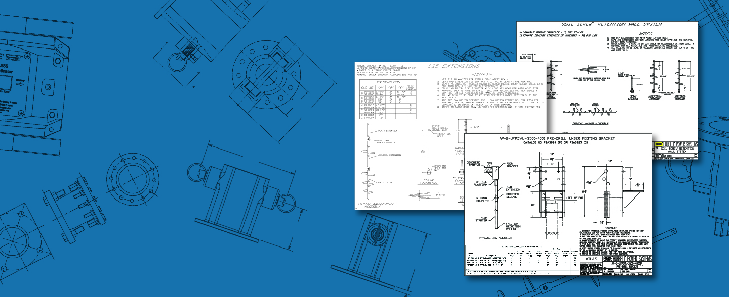 Looking for Product Drawings or Spec Sheets?