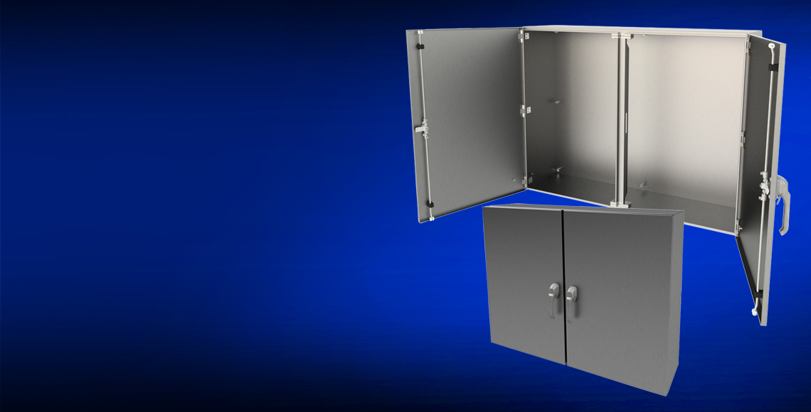 Wiegmann Stainless Steel Double Door Enclosure