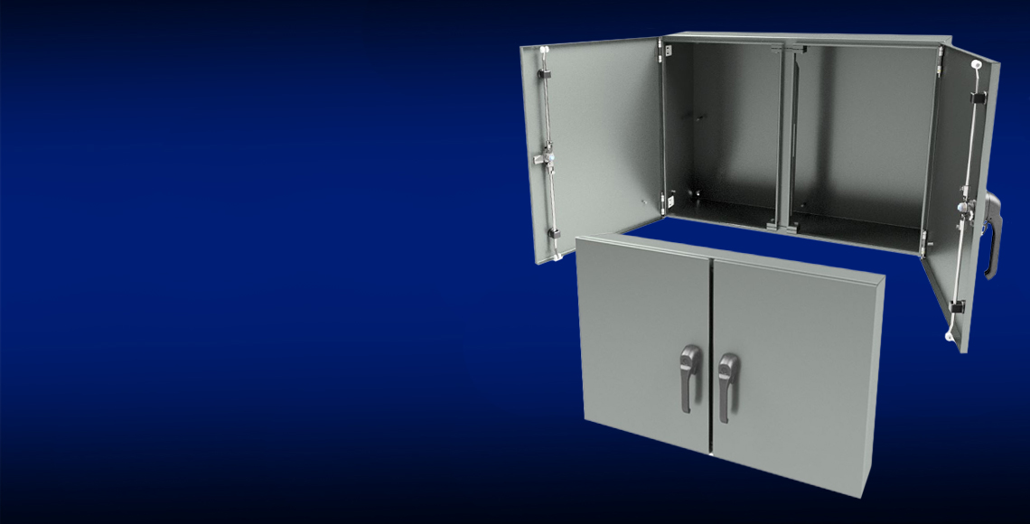 New! N412 Double Door ULTIMATE® Enclosure