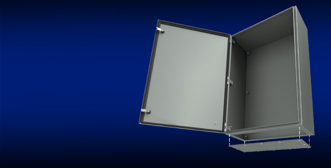 ULTIMATE® Series Enclosures with Gland Plates