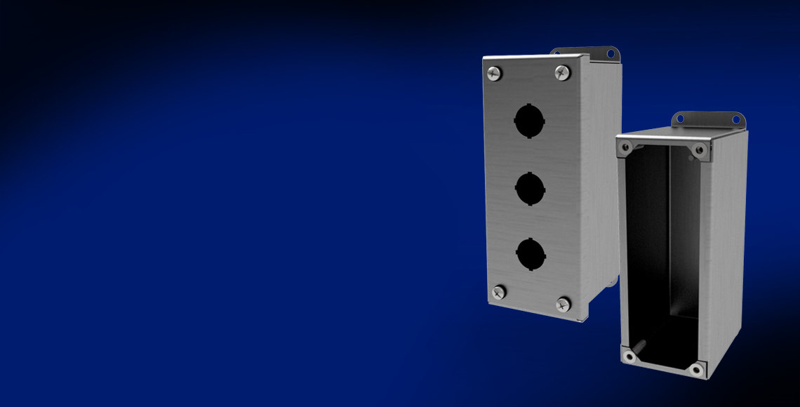 Stainless Steel Pushbutton Enclosures