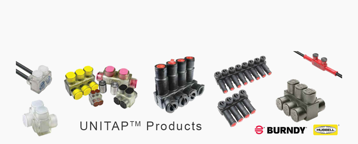Multiple Tap Connectors Copper Aluminum Wiring Unitap Connector Products