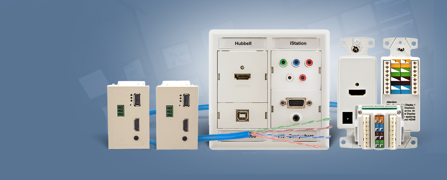 Hubbell Premise Wiring Homepage Module With 6port Network Switch And Cable Distribution Av Connections Over Utp Cabling